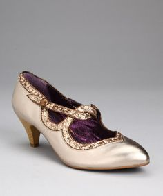 Gold Dorthy's Dream Pump.  I bought these in both gold and black for my daughter - they are perfection in person!!