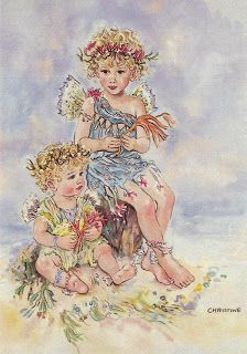 Discussion on LiveInternet - Russian Service Online diary Angel Clipart, Fairy Pictures, Baby Fairy, Picture Postcards, Beautiful Fairies, Flower Fairies, Fairy Art, Vintage Artwork, Freelance Illustrator