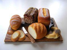 Breads - Miniature in 1:12 by Erzsébet Bodzás, IGMA Artisan | eBay