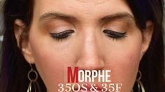 Warm Nude Natural Golden Shimmer Morphe 35OS & Morphe 35F Palettes