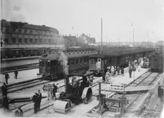 Helsinki, ennen vuoden 1932 asvaltointia Strange Photos, The Old Days, Before Us, Helsinki, Vintage Photography, Time Travel, Old Photos, The Past, Old Things