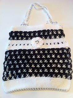Items similar to Custom Knit Crochet & Pull Tab Purse - Large on Etsy Pop Top Crafts, Can Tab Crafts, Pop Can Tabs, Crochet Purses, Loom Knitting, Craft Patterns, Crochet Projects, Purses And Bags, Knit Crochet