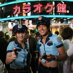 Tokyo Halloween 2016b(Photo 13): Police on patrol #travel #portrait #costume #cosplay #croptop #police #uniform #cops #fancydress #travelphotography #travelgram #urban #wanderlust #love #photooftheday #crowds #policeman #tokyo #tokyohalloween #shibuya #h