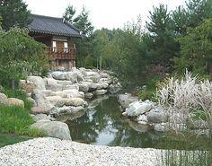Rubens Rabatter: Koreanska trädgården