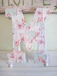Love Letter M Tutorial by Elyse Major via weddings.craftgossip.com