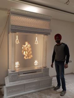How to make a corian temple now a days in modern homes we leave some […] Pooja Room Design, Home Room Design, Home Building Design, Pooja Rooms, Temple Design For Home, Living Room Design Inspiration, Room Door Design, Bungalow House Design, Pooja Room Door Design