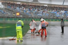 Persistent heavy rain showers in Melbourne have forced the postponement of the second and third sessions of qualifying to Sunday morning. Australian Grand Prix, Rain, Rain Fall, Waterfall, Rain Photography