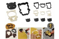 Aliexpress.com : Buy New A Set of Cartoon Panda Shaped Mold Cake Cookie Cutter Candy Decorating Tool High Quality from Reliable candy commercial suppliers on Cheap Gadagets Mall