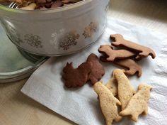 Variabilní špaldové sušenky Dog Bowls, Dog Food Recipes, Pudding, Sweets, Cookies, Baking, Kitchen, Crinkles, Fitness