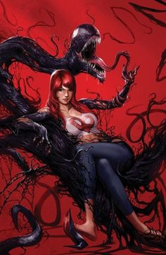 A site dedicated to Marvel's comic book character Venom; a Spider-Man villain. Marvel Dc Comics, Marvel Venom, Marvel Art, Marvel Heroes, Captain Marvel, Comic Book Characters, Marvel Characters, Comic Character, Comic Books Art