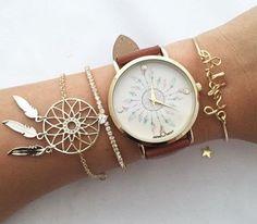 Pastel Dreamcatcher Watch