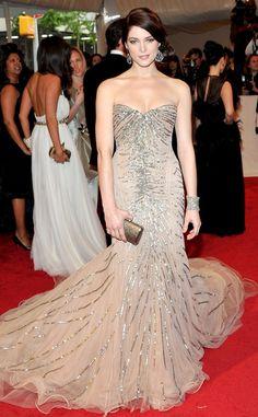Ashley Greene wearing Donna Karan - 2011 Met Gala   E! Online
