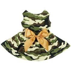 Fitwarm® Fashion Army Green Camouflage Pet Dog Dress Clothes Camo Shirts Vest Comfy Apparel * Hurry! Check out this great product : Dog Apparel and Accessories