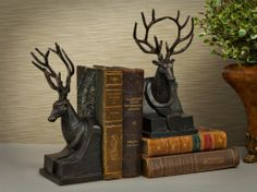 Best Bookends Ever ~ Oh, yes, YES!!! I often have a few books out that I'm reading at any one time and this would be perfect to keep them together.