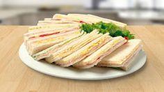 Receta de Sandwiches de Miga Argentinos cómo hacerlos y rellenos varios