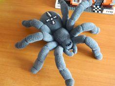 Блог Гали Рами: Пауки, мягкие игрушки на каркасе.
