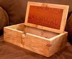 Maple and Lacewood Letter Box - by MarkJ @ LumberJocks.com ~ woodworking community