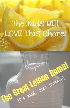 A Chore That's FUN ~ For Everyone! The Great Lemon Bomb Toilet Cleaner!