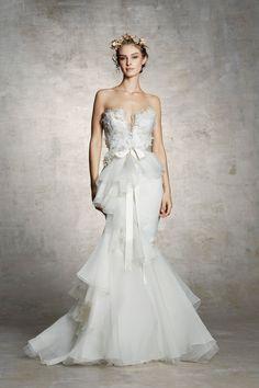 Marchesa Spring 2019 Bridal New York