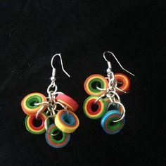 Earrings quilling paper earrings
