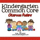 """These Common Core """"I Can"""" Statement Posters for Kindergarten were created in simple, kid-friendly language just for your kiddos. Each poster contai..."""