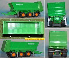 Joskin Ferti-Cargo Stalldungstreuer (TRM-System 3-achs) (Siku 1848) H0
