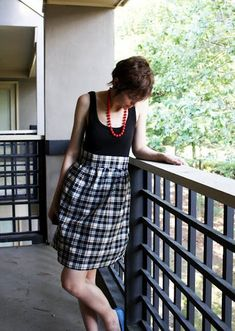Not only is it cheap and chic this DIY Tank Dress is also easy to make.This easy dress tutorial will show you how to transform a basic tank and fabric into a cute sewing project. In 30 minutes you'll have a stylish new outfit for spring and summer. Simple Dresses, Cheap Dresses, Cute Dresses, Beautiful Dresses, Inexpensive Dresses, Dresses Dresses, Summer Dresses, Summer Outfit, Diy Clothing