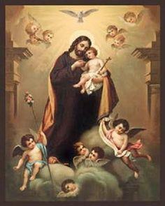 Vade Retro Satana @VadeRetro03 Patriarca San José, esposo de la Madre de Dios con quien eres un solo corazón y una sola alma, ruega por nosotros. pic.twitter.com/dT6kq9zCjd