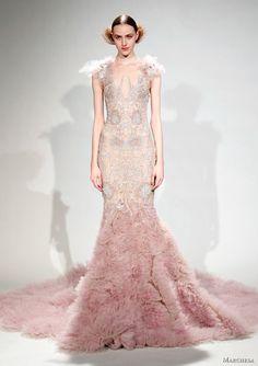 Blush wedding dress pink wedding dress beautiful