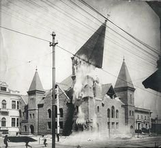 vintage everyday: 20 Incredible Photos of the 1906 San Francisco Earthquake