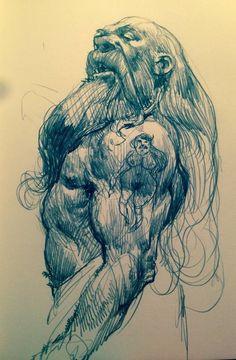 Sketches., Bartlomiej  Gawel on ArtStation at https://www.artstation.com/artwork/LaEdP