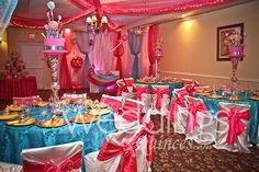 Candyland Quince by Myreida Decor: Myreida's Linens and Decor Venue: Guerra Event Center