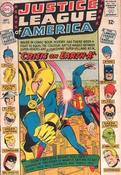 Justice League of America Comic Books for Sale. Buy old Justice League ...