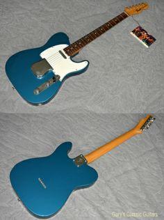 1968 Fender® Telecaster® (#FEE0738) Lake Placid Blue, Near Mint, Original Hard, $19,900.00 (via Gbase.com)