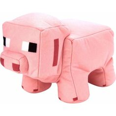 Minecraft Plush Pig/Porkchop, Multicolor