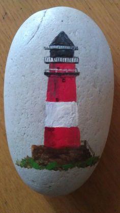 Svetionik | Steine bemalen | Leuchtturm