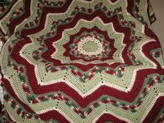 "Crochet. ~  THIS IS BEAUTIFUL!  (Also putting under ""Christmas"" because of the colors.)  ♥A"