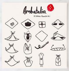 Ambatalia Furoshiki Illustrated How-to | QUITOKEETO
