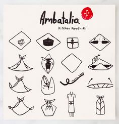 Ambatalia Furoshiki Illustrated How-to – QUITOKEETO