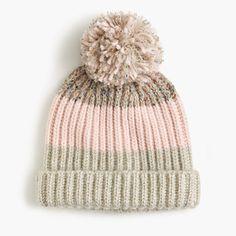 J.Crew+-+Italian+wool-blend+striped+hat
