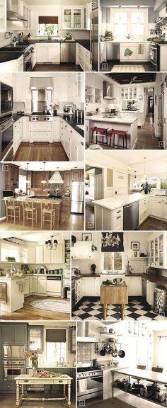 U Shaped Kitchen Designs and Ideas