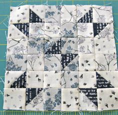 Wings quilt block
