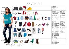 Wortschatz Kleidung