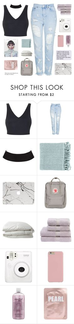 """""""there for you"""" by flying-baby-unicorn ❤ liked on Polyvore featuring Topshop, Surya, Fjällräven, Nimbus, Christy, philosophy and Lapcos"""