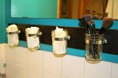 shower organizers | DIY bathroom organizer | DIY Projects