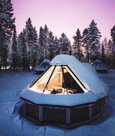 Glass #igloo in Pyhatunturi #Finland   @joonaslinkola #interiors #interiordesign #architecture #decoration #interior #home #design #camper #bookofcabins #homedecor #decoration #decor #prefab #diy #lifestyle #compactliving #fineinteriors #cabin #shed #tinyhomes #tinyhouse #cabinfever #inspiration #tinyhousemovement #airstream #treehouse #cabinlife #cottage