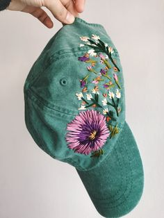 hand made embroidered hat
