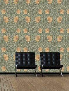 Pimpernel Wallpaper - By Morris and Co - 210388 Feature Wallpaper, Fashion Wallpaper, Living Room, Home Decor, Decoration Home, Room Decor, Home Living Room, Drawing Room, Lounge