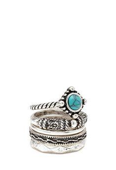 Vintage-Inspired Ring Set | FOREVER21 - 1000083498
