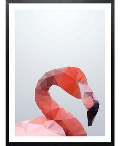 Geo Flamingo of Three Of The Possessed now on JUNIQE!